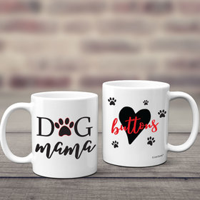 Personalized Dog Mama 11oz Mug Empty