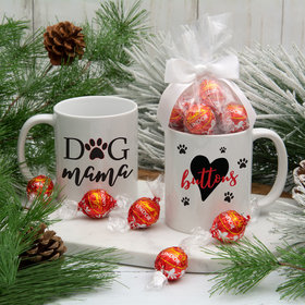 Personalized Dog Mama 11oz Mug with Lindt Truffles