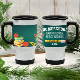 Personalized Travel Mug (14oz) - Homeschooled