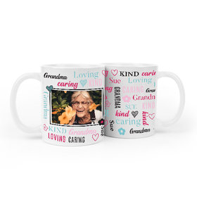 Personalized Word Cloud Family Member 11oz Mug Empty