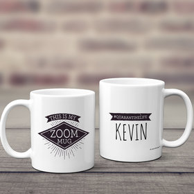 Personalized This is My Zoom Mug 11oz Mug Empty