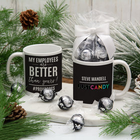 Personalized My Employees Are Better 11oz Mug with Lindt Truffles