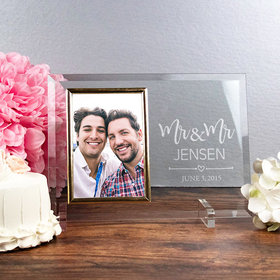 Personalized Picture Frame Mr. & Mr.