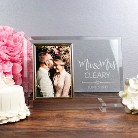 Personalized Picture Frame Mr. & Mrs.