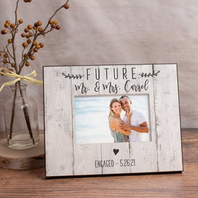 Personalized Picture Frame Future Mr. & Mrs.