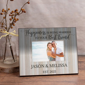 Personalized Picture Frame Married to Your Best Friend