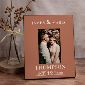 Personalized Picture Frame Wedding Date