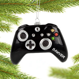 Personalized Xbox Controller Christmas Ornament