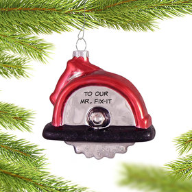 Personalized Circular Saw Ornament