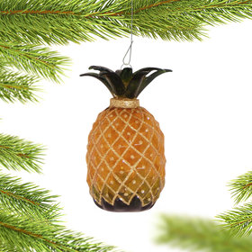 Personalized Pineapple Ornament
