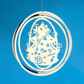 4 Ring Circle (Christmas Tree) Christmas Ornament