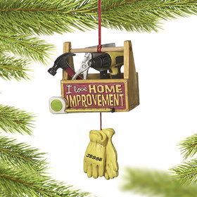 Personalized Home Improvement Christmas Ornament