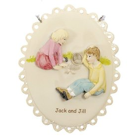Jack and Jill Nursery Rhyme Christmas Ornament
