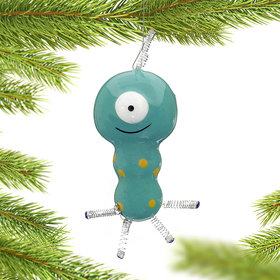 Alien with One Eye Christmas Ornament
