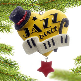 Dance Heart (Jazz) Christmas Ornament