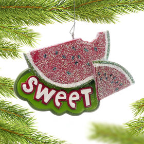 Sweet Watermelon Christmas Ornament