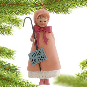Little Bo Peep Rhyme Christmas Ornament