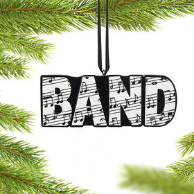 Personalized Band Word Christmas Ornament