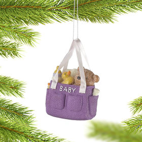 Diaper Bag Christmas Ornament