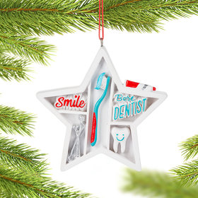 Personalized Dentist Christmas Ornament