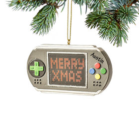 Personalized Game Controller Christmas Ornament