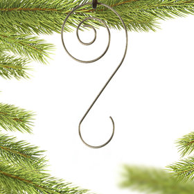 Personalized Spiral Ornament Hooks (Set of 12) Christmas Ornament