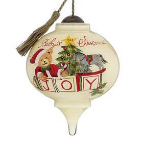 Personalized Baby's 1st Christmas Joy Christmas Ornament