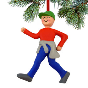 Power Walker Male Christmas Ornament