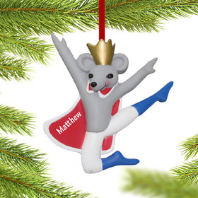 Personalized Mouse King Christmas Ornament