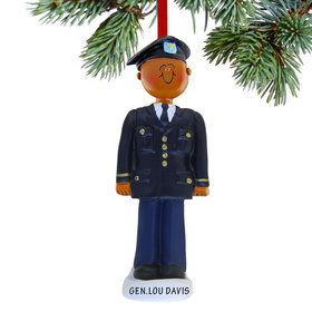 Personalized Armed Forces Army Male Christmas Ornament