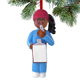 Coach Female Christmas Ornament