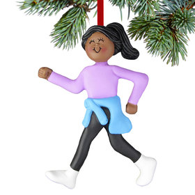 Power Walker Female Christmas Ornament