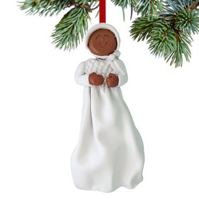 Baptism or Christening Girl Christmas Ornament