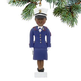 Marine Female Christmas Ornament