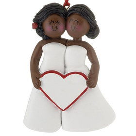 Same Sex Marriage (Women) Christmas Ornament