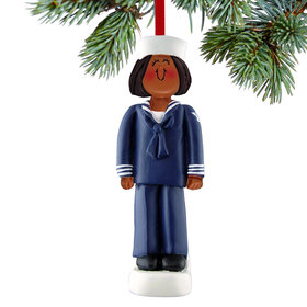 Armed Forces Navy Female Christmas Ornament