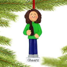 Personalized Beer Lover Christmas Ornament
