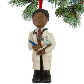 Doctor Male Christmas Ornament