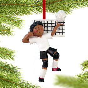 Volleyball Male Christmas Ornament