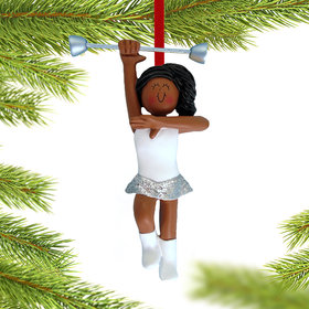 Baton Twirler Christmas Ornament