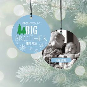 Personalized Big Brother Christmas Ornament