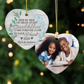 Personalized Grandchildren Christmas Ornament