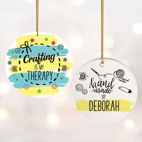 Personalized Crafting Christmas Ornament