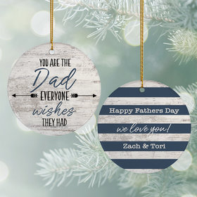 Personalized Father's Day Ornament