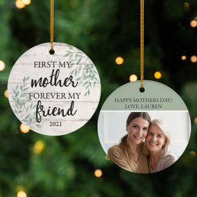 Personalized Forever Friend Christmas Ornament
