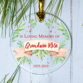 Memorial Christmas Ornament