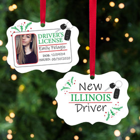 Personalized New Driver Christmas Ornament