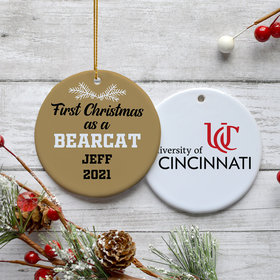 Personalized First Christmas As Christmas Ornament
