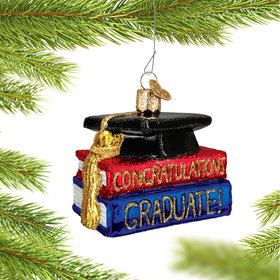Personalized Congrats Graduate Christmas Ornament