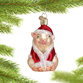Personalized Christmas Ham Christmas Ornament